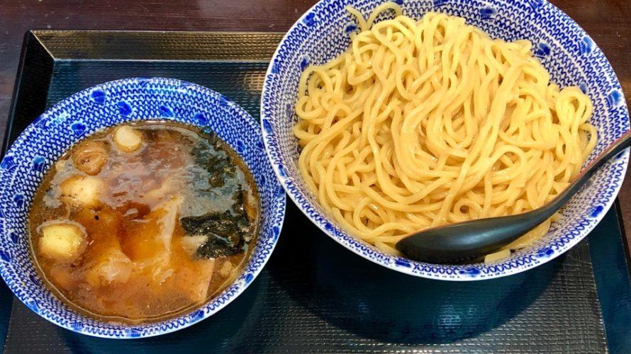 北浦和『中華蕎麦 金魚』ワンタンつけ蕎麦850円