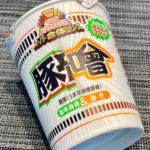 【カップの麺ぜんぶ食う】第367回 日清食品 カップヌードル スーパー合体シリーズ 味噌&旨辛豚骨(豚噌) ★5