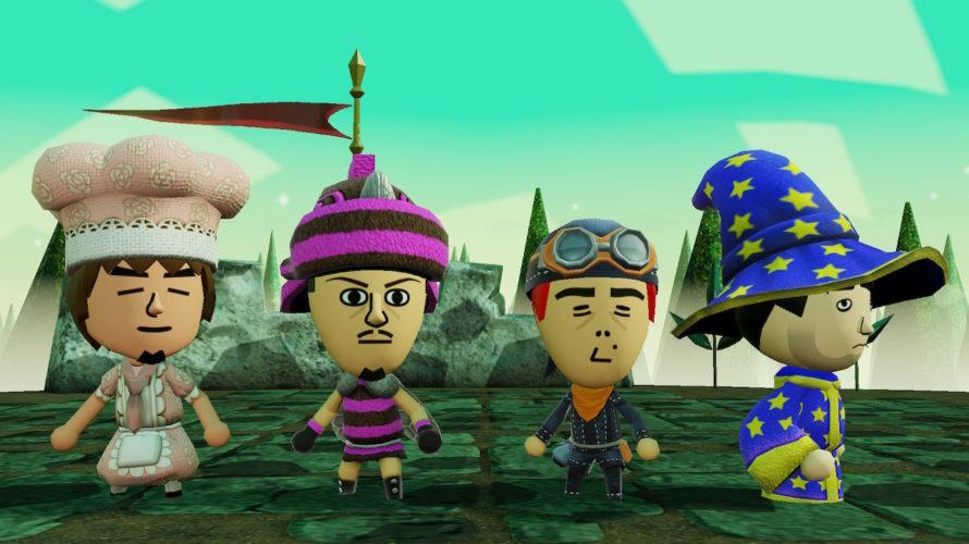 Nintendo Switch「Miitopia」が楽しい! おじさんの友達を無断で出しまくって旅に出る
