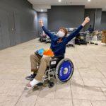 ショッピングモールで車椅子に乗ってみたら超快適だった話|怪我から3日後のおぼえがき【40歳アキレス腱断裂シリーズ】