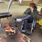 アキレス腱断裂だけどゆとりキャンプに行ってきたぞ@PICA Fujiyama【40歳アキレス腱断裂シリーズ】